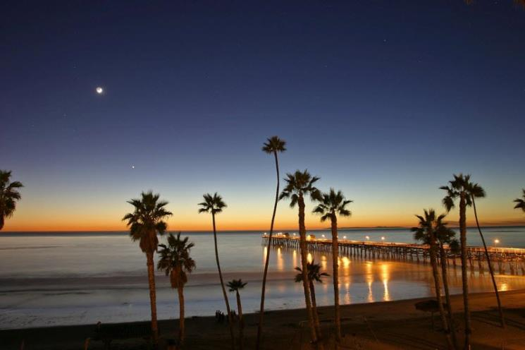 Sunset San Clemente by Rob Boudreau
