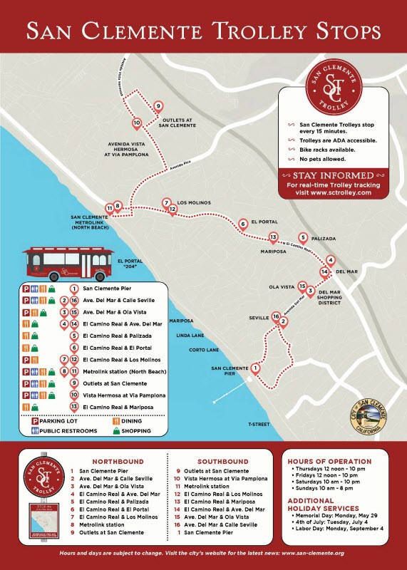 SC Trolley Map BrochureSM