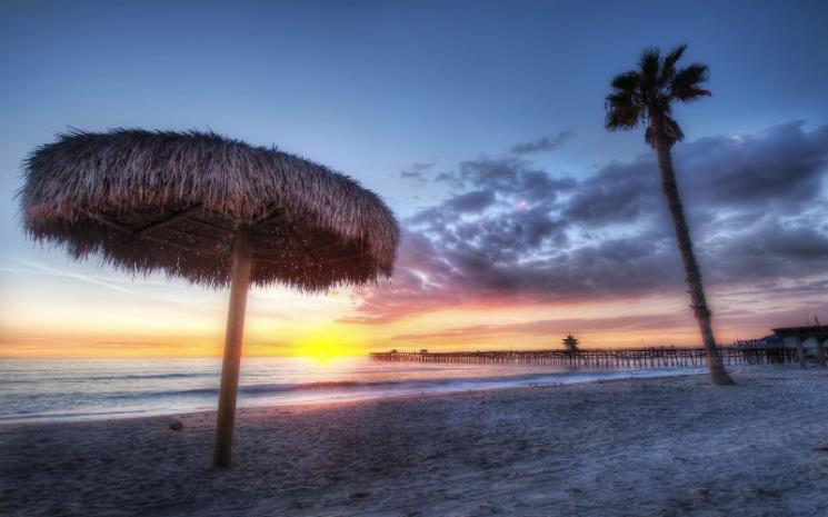 'The Sunset in San Clemente' by Tamera