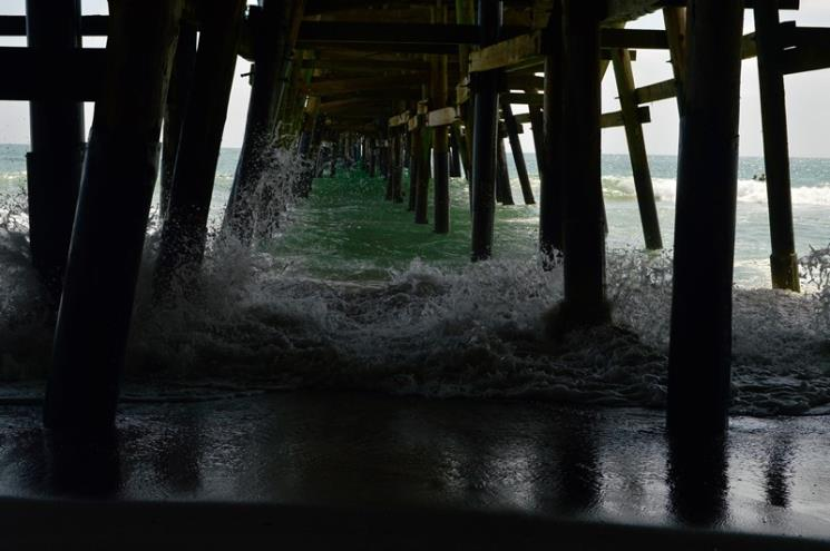 'Under the Pier' by Madi Hawksley