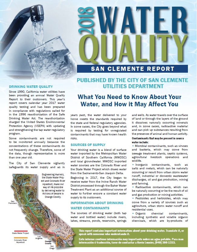 water quality and contamination final lab report