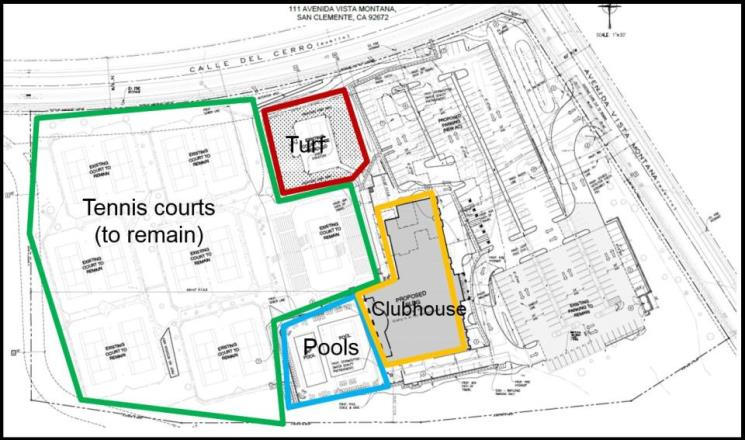 Site Plan - Life Time Fitness