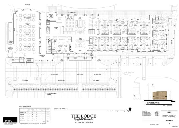 Lodge First Floor Plan