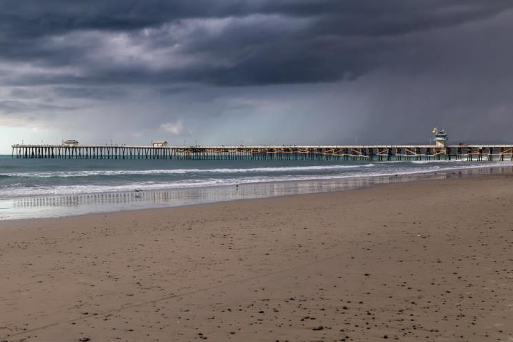 'Storm Over the Pier' by Gregg Grothjan